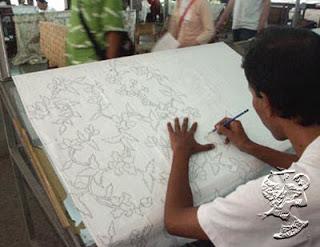alat batik kain mori