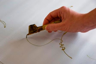alat batik saringan malam (pen)