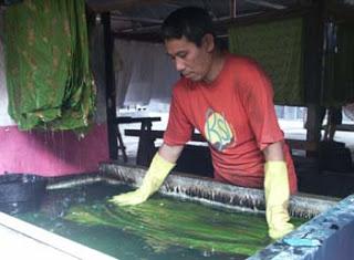 proses batik mbironi